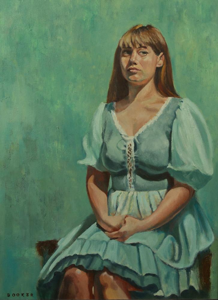 Taken Aback original oil painting and art print from artist Booker Tueller