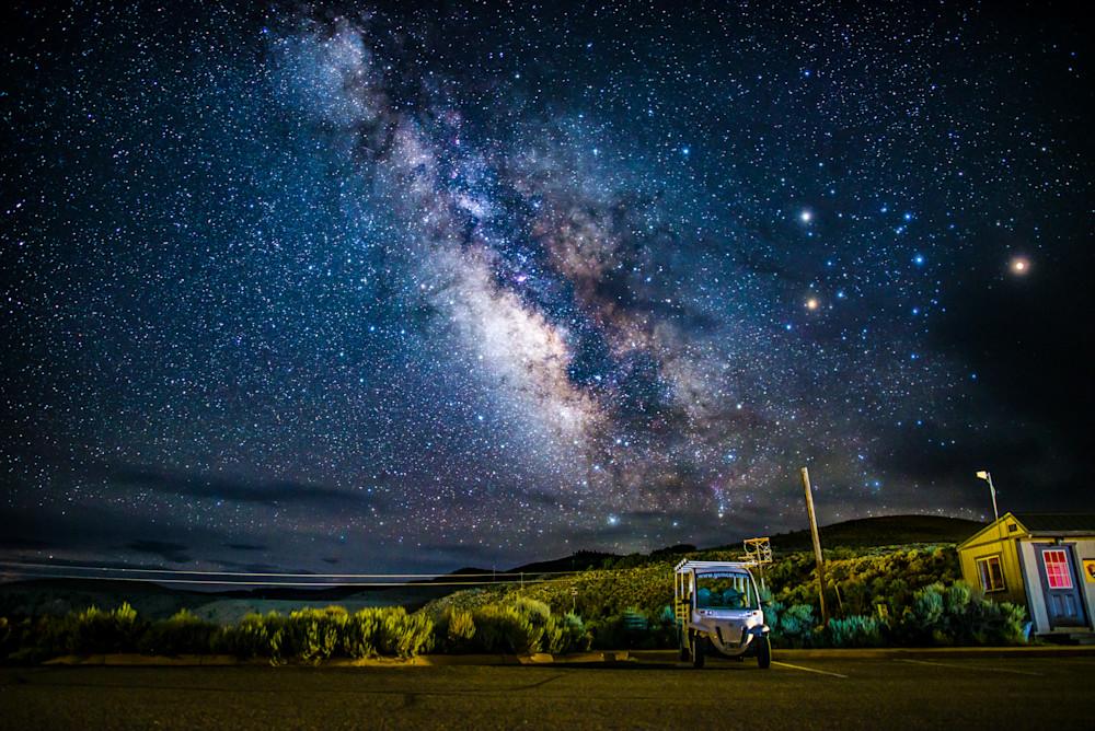 Elk Creek Milky Way Art | Studio Grynn