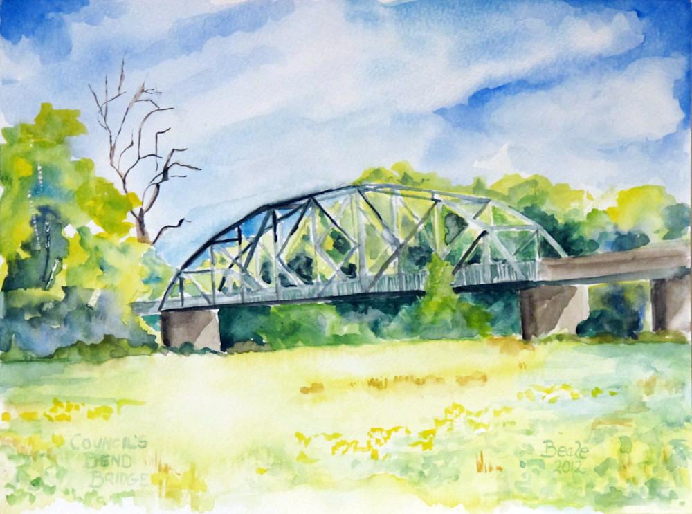 Hickman County Bridge Duck River