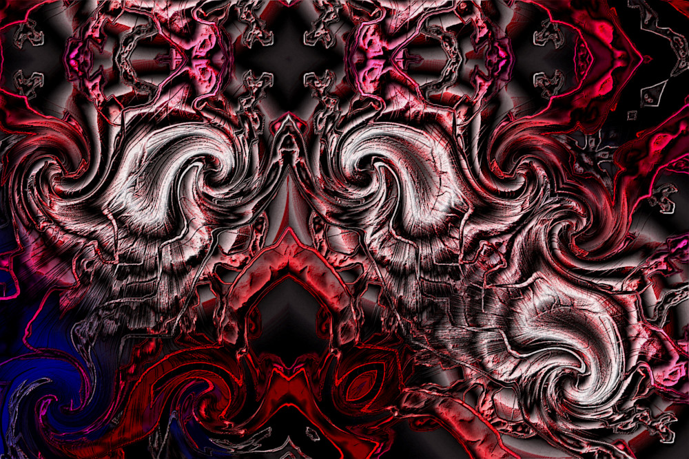 Folding sanguine thought | Mark Humes Gallery