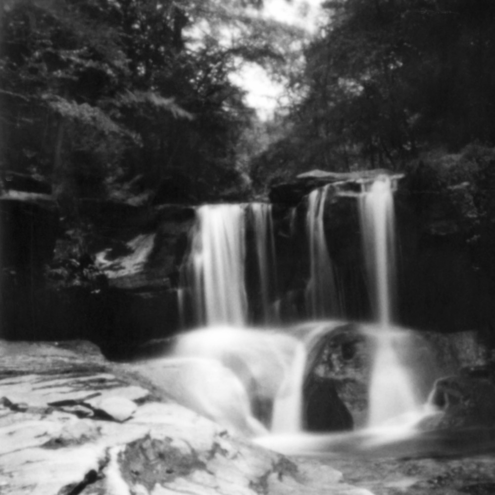 Yeagerville Falls Pinhole Photograph - for sale as fine art prints