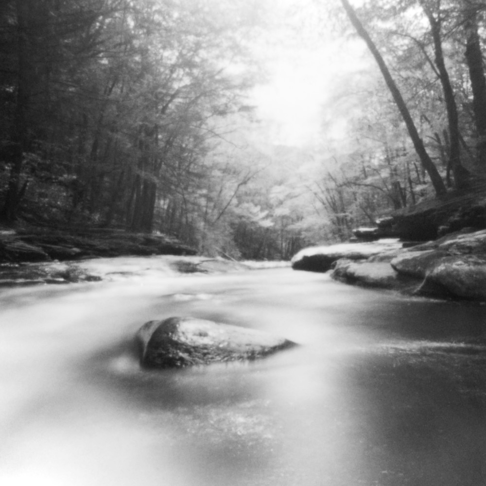 Rondout Creek Pinhole Photograph - for sale as fine art prints