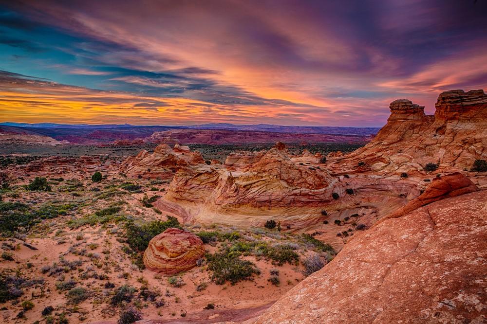 Colored Buttes | Douglas Sandquist DDS Fine Art Photographs