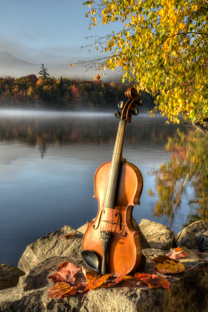 Autumn Etude Photography Art | Instrumental Art
