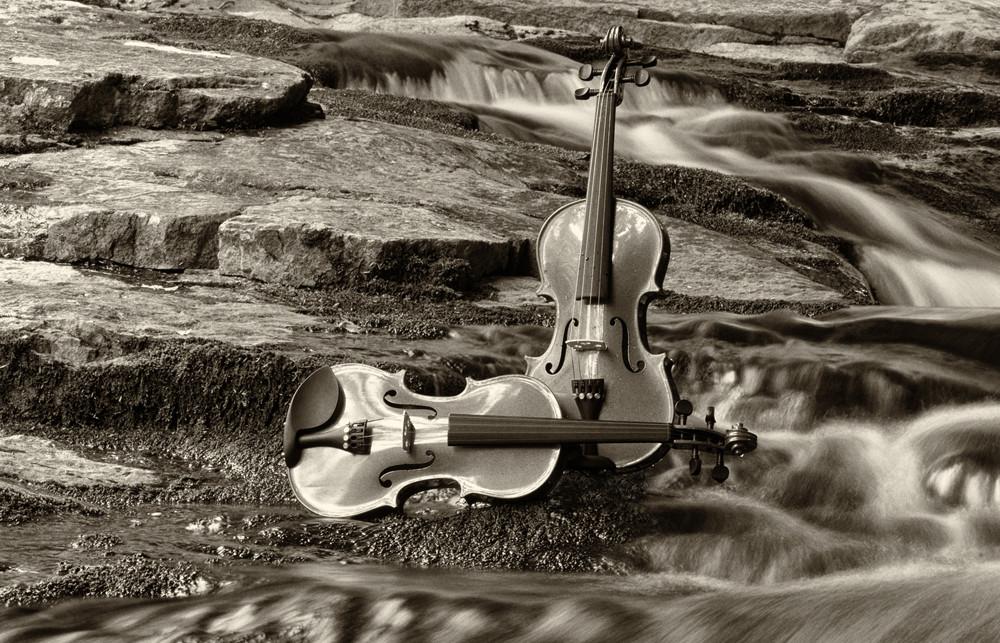 Harmony At Clifford Falls Ii Art | Instrumental Art