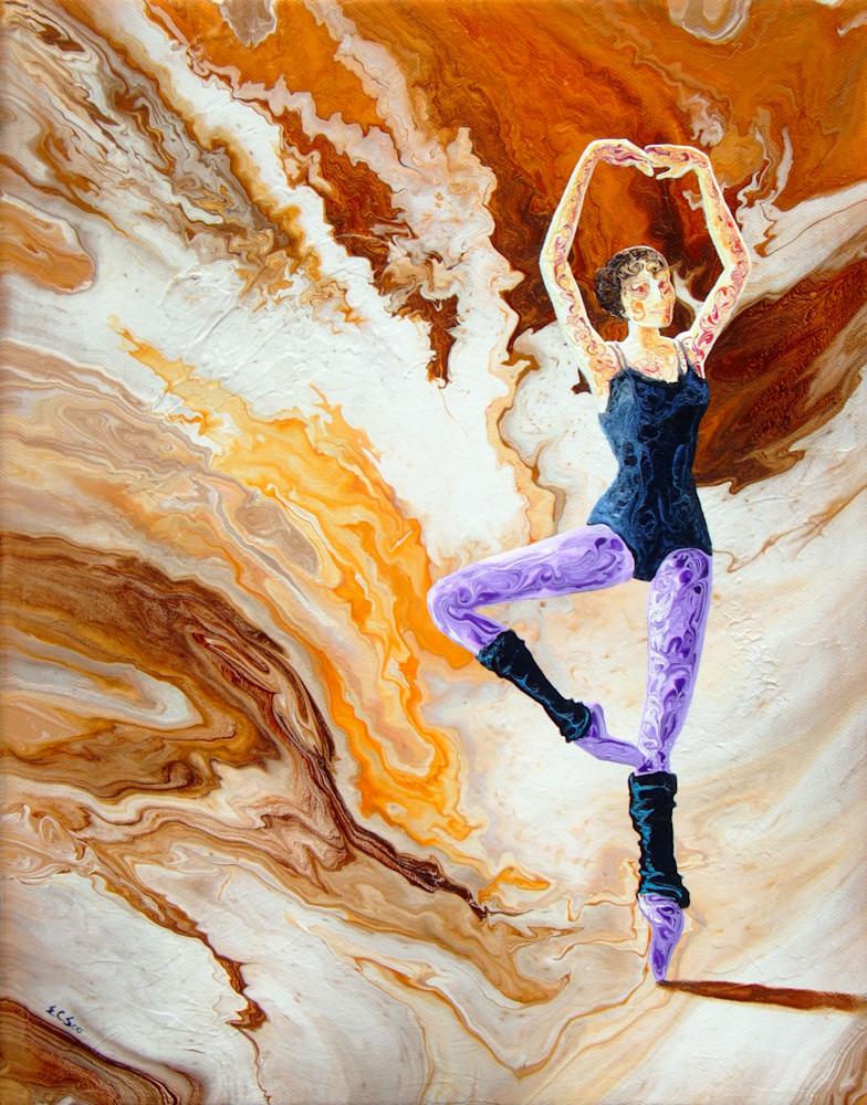 Abstract Ballerina Art - Practice only