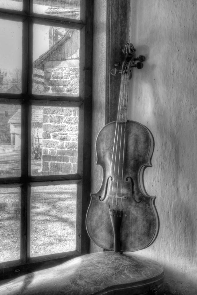 Violin Still Life Ii Photography Art | Instrumental Art