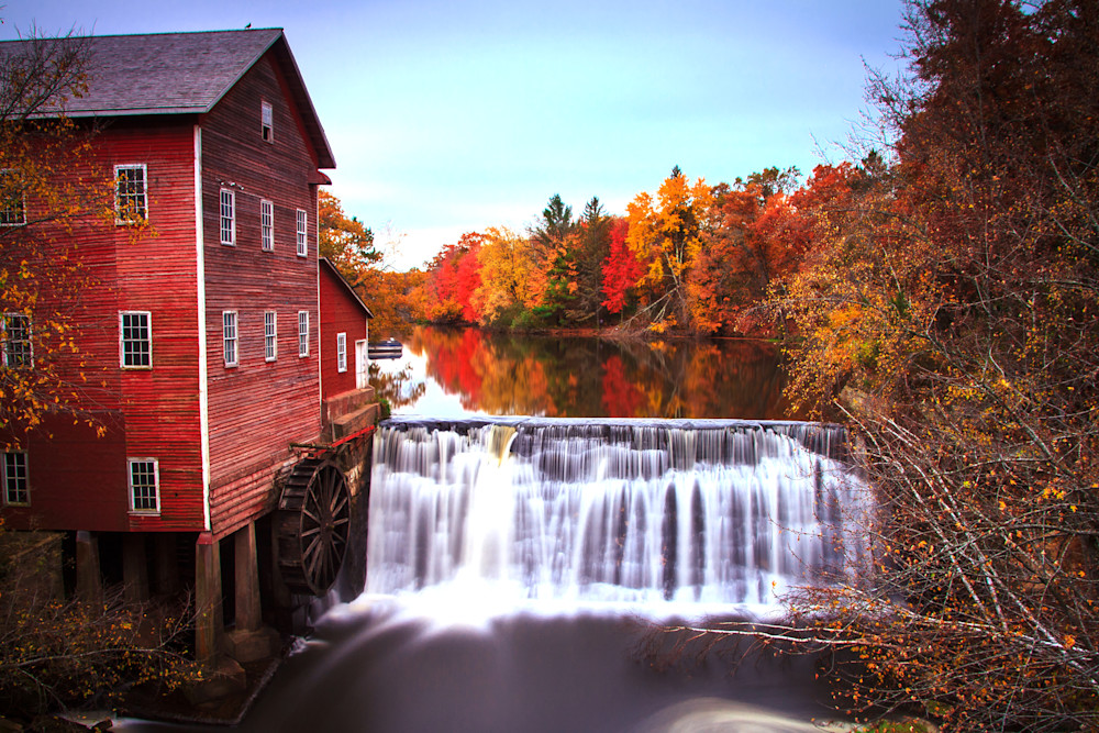 Dells Mill Autumn - Fall Colors   William Drew Photography