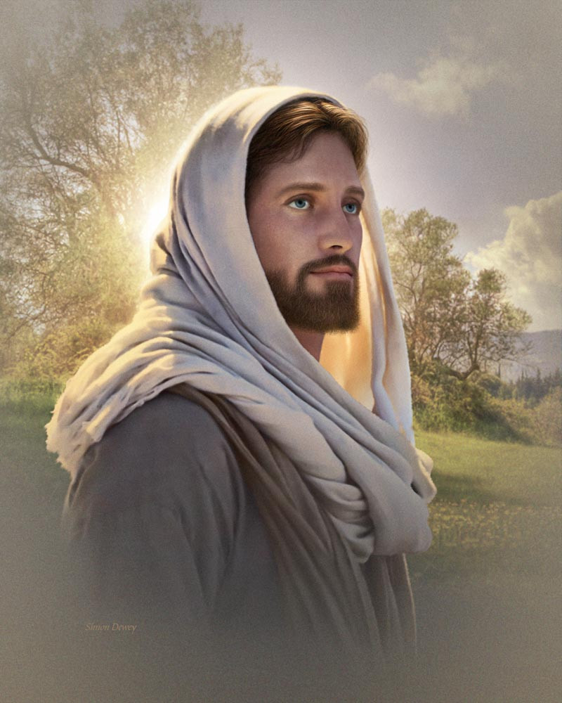 The Dawning of a Brighter Day Jesus Christ Lds Simon Dewey