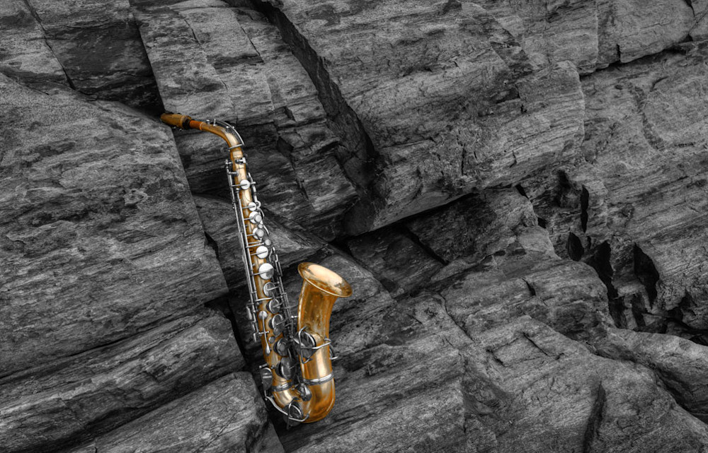 Maine Sax Photography Art   Instrumental Art