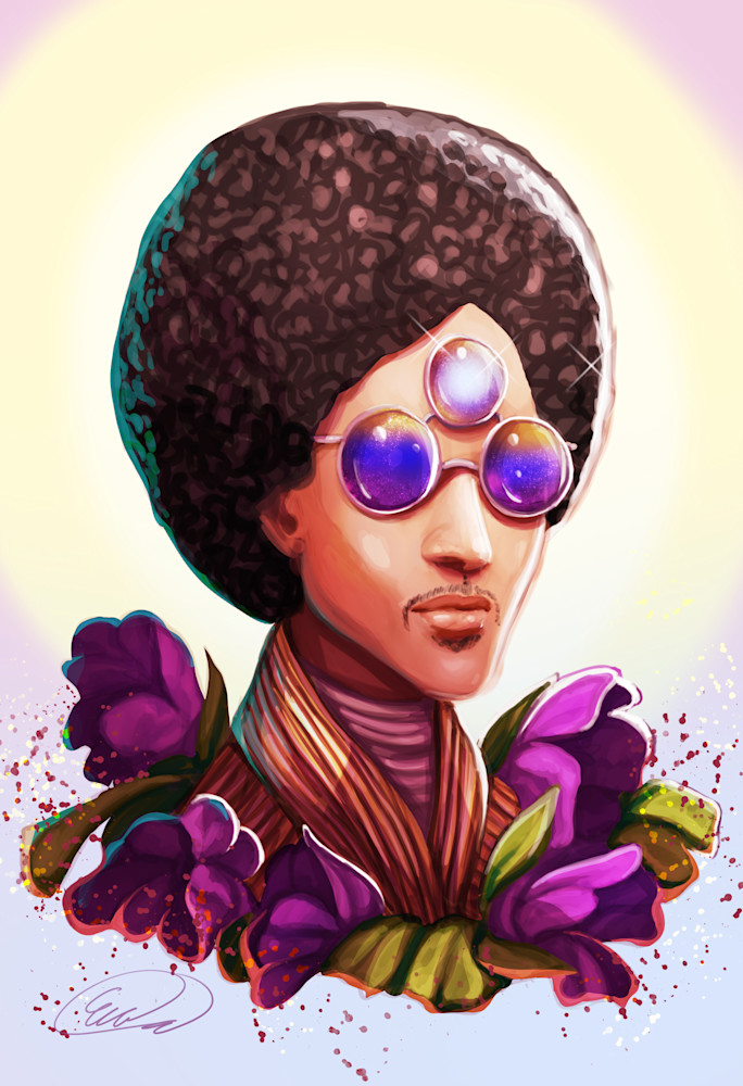 Forever the Prince Print for Sale as Original Art