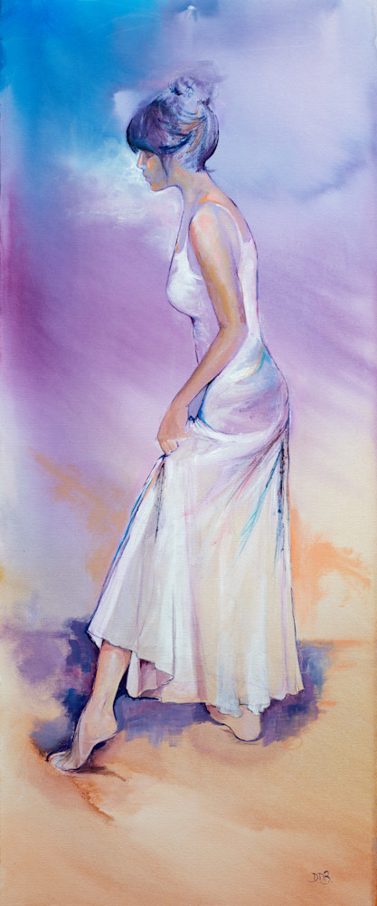 Female Colourful Art Print