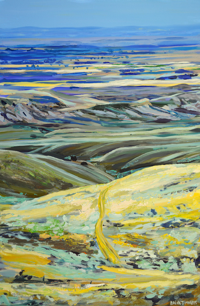 The Trail To Heart Mountain Art   Timmer Gallery   Brian Timmer Art