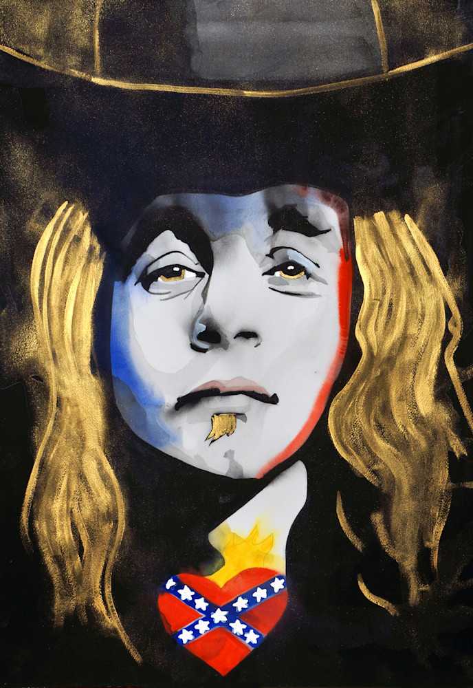 Ronnie Van Zant Art | William K. Stidham - heART Art