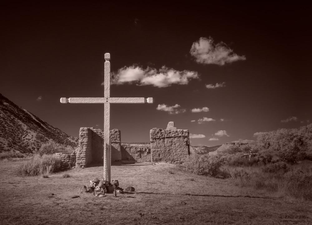 Ruins Of Santa Rosa De Lima, d'Ellis Photographic Art photographs, Elsa