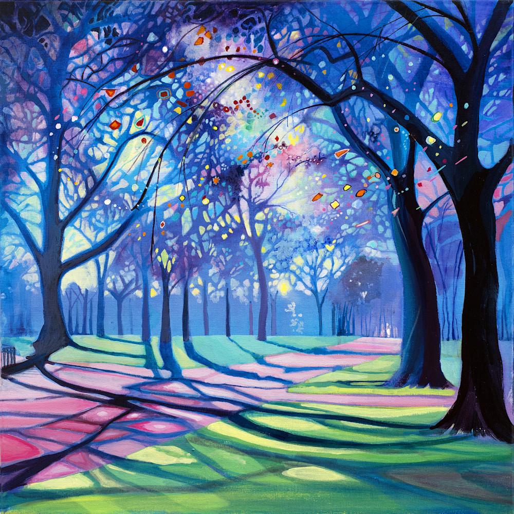 Kensington Gardens Fine Art Print