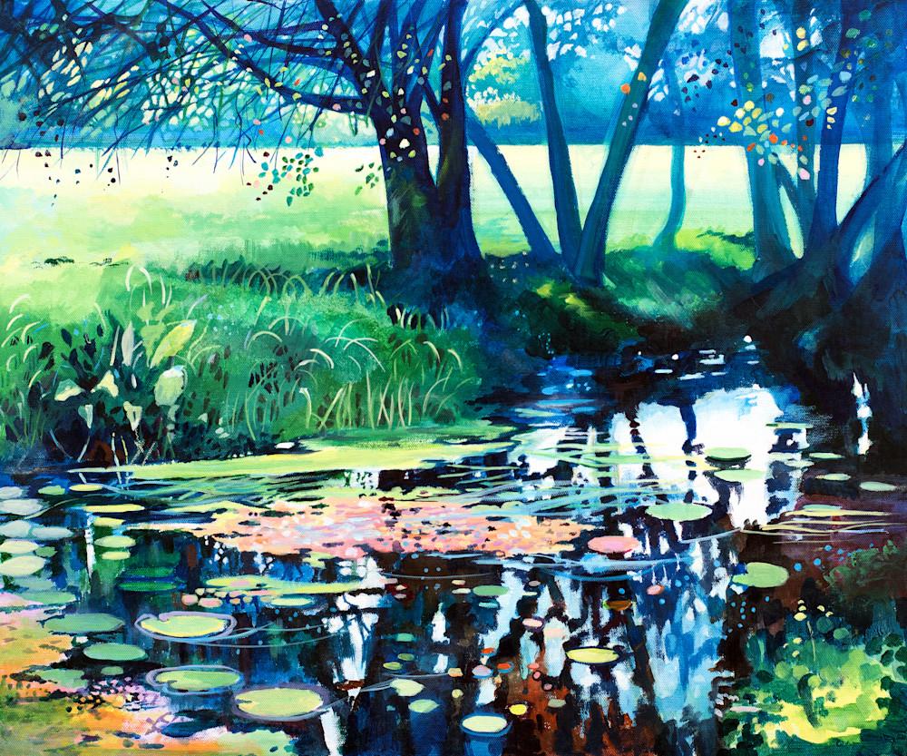 Fine Art Print Canal Landcape