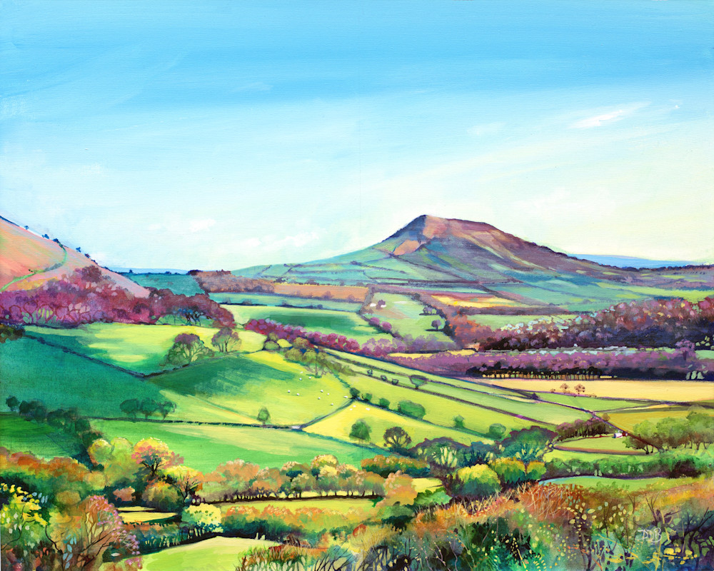 Fine Art Print Skirrid Mountain