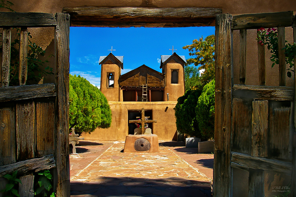 Through the Gates of Chimayo | d'Ellis Photographic Art photographs, Bill