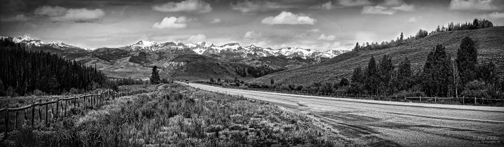 On The Way To Wyoming, d'Ellis Photographic Art photographs, Elsa