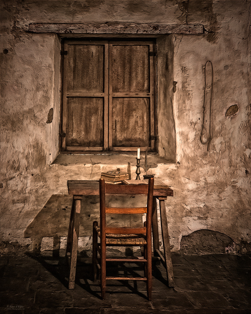 Monk's Cell | d'Ellis Photographic Art photographs, Elsa