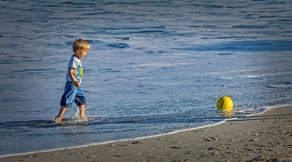 There's My Ball!, d'Ellis Photographic Art photographs, Bill