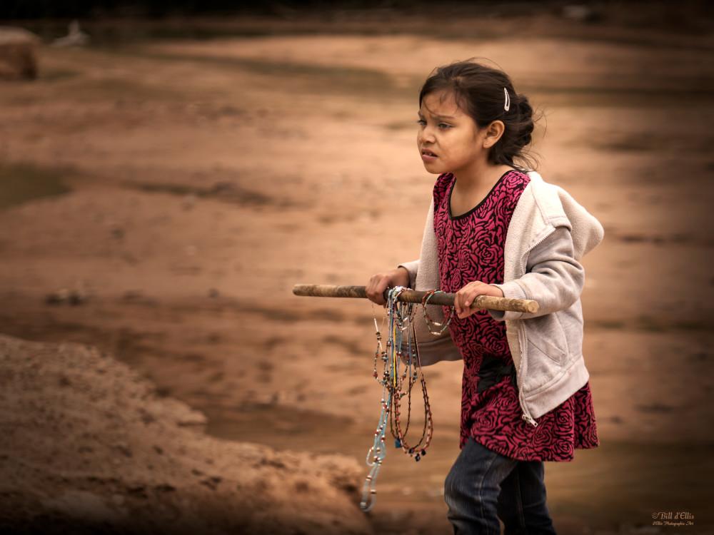 Navajo Girl, d'Ellis Photographic Art photographs, Bill