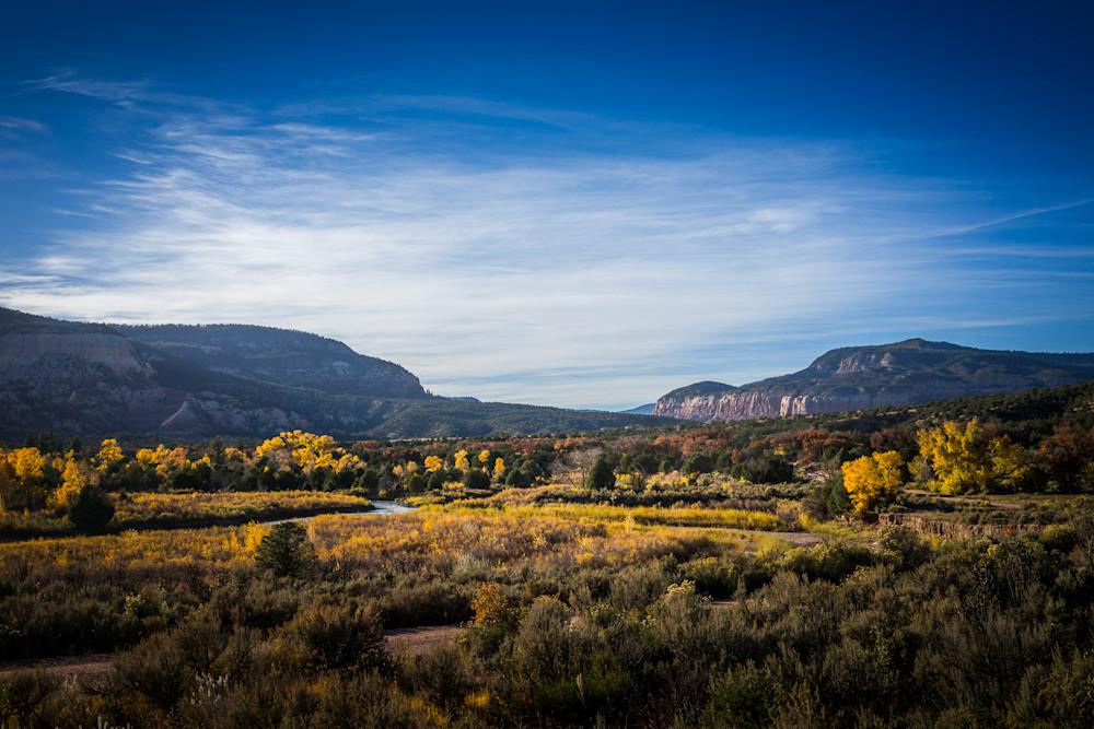 Chama River Canyon In Fall 6925 Art   jonathankeeton