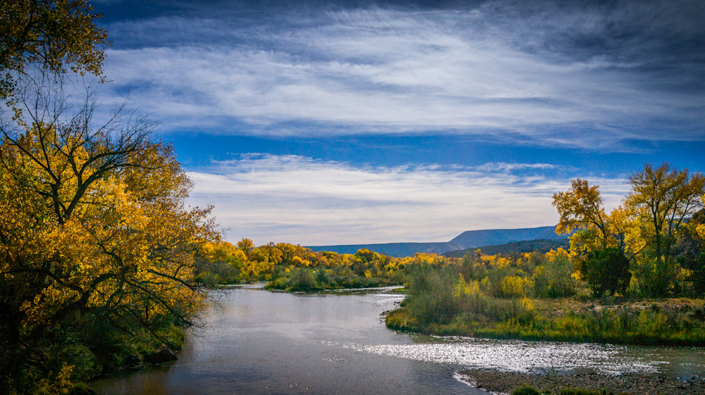 Autumn, Chama RIver, Landscape, New Mexico, Photography, Southwest,