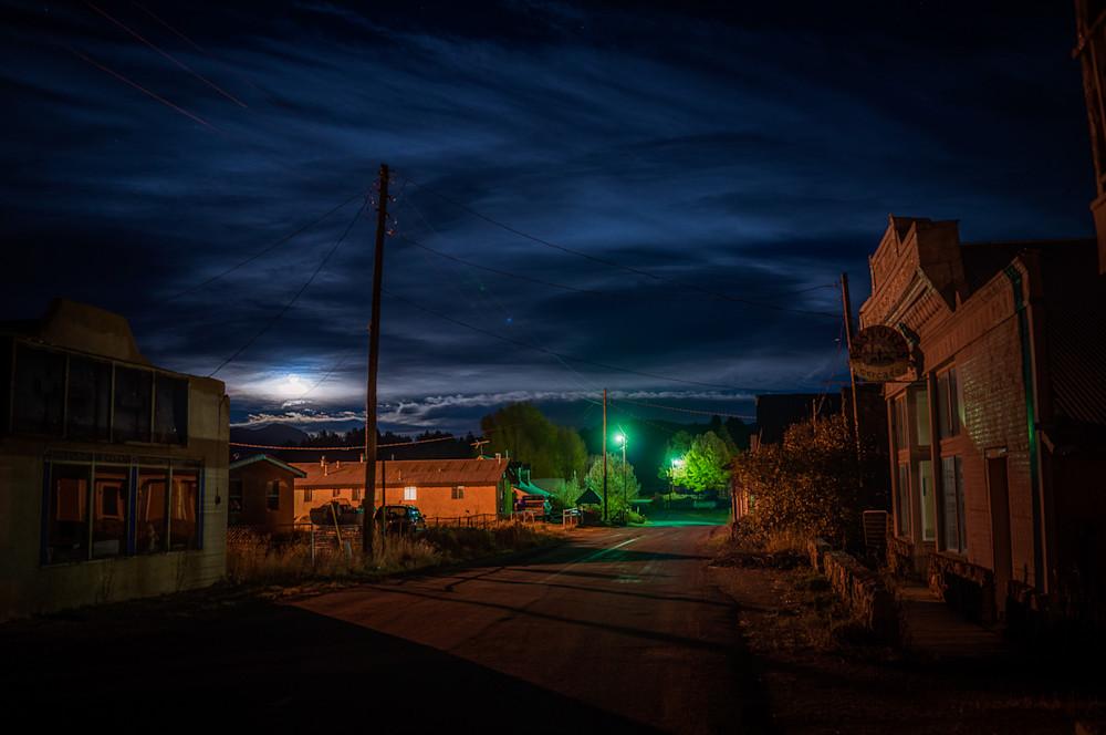 Autumn, Landscape, Photography, Southwest, nocturne, nightscape, New Mexico, Los Ojos