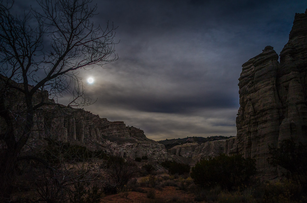 Landscape, New Mexico, Photography, Southwest, The White Place, nocturne, nightscape, Plaza Blanca
