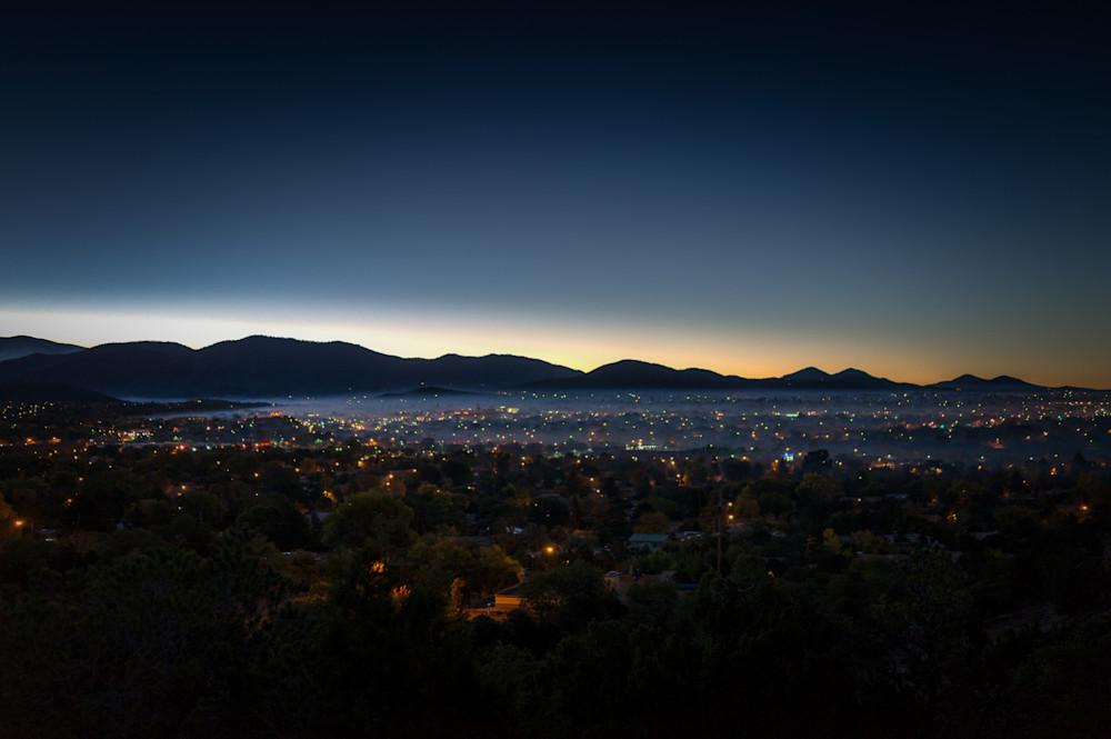 New Mexico, Photography, Santa Fe, Southwest, nocturne, dawn, landscape