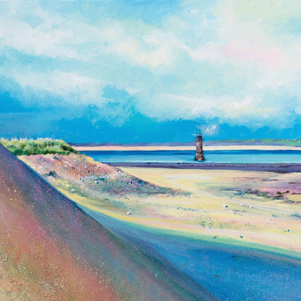 Art print Whiteford Lighthouse,  Gower