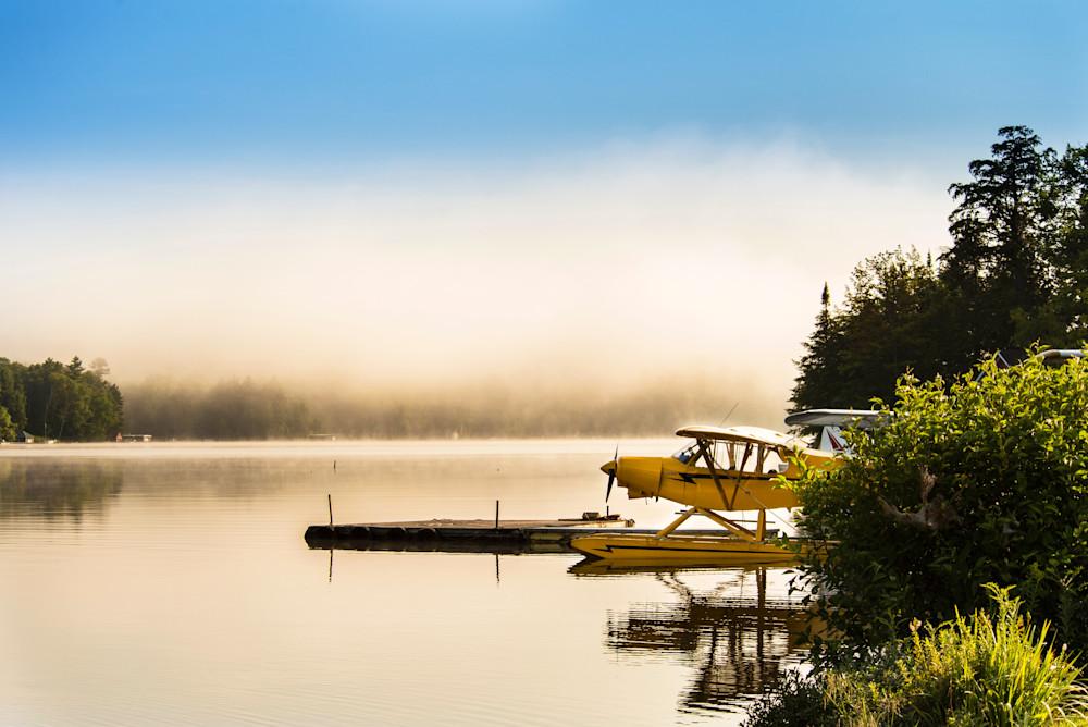 Piper Cub On 7th Lake Photography Art | Kurt Gardner Photogarphy Gallery