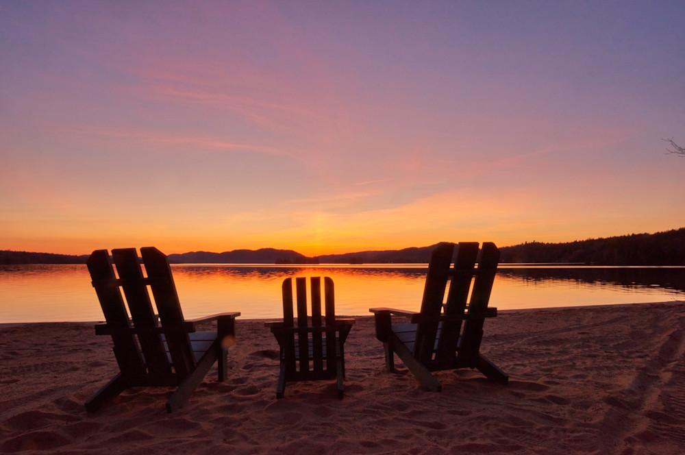 adirondack chairs on beach sunset. Beautiful Chairs Inside Adirondack Chairs On Beach Sunset