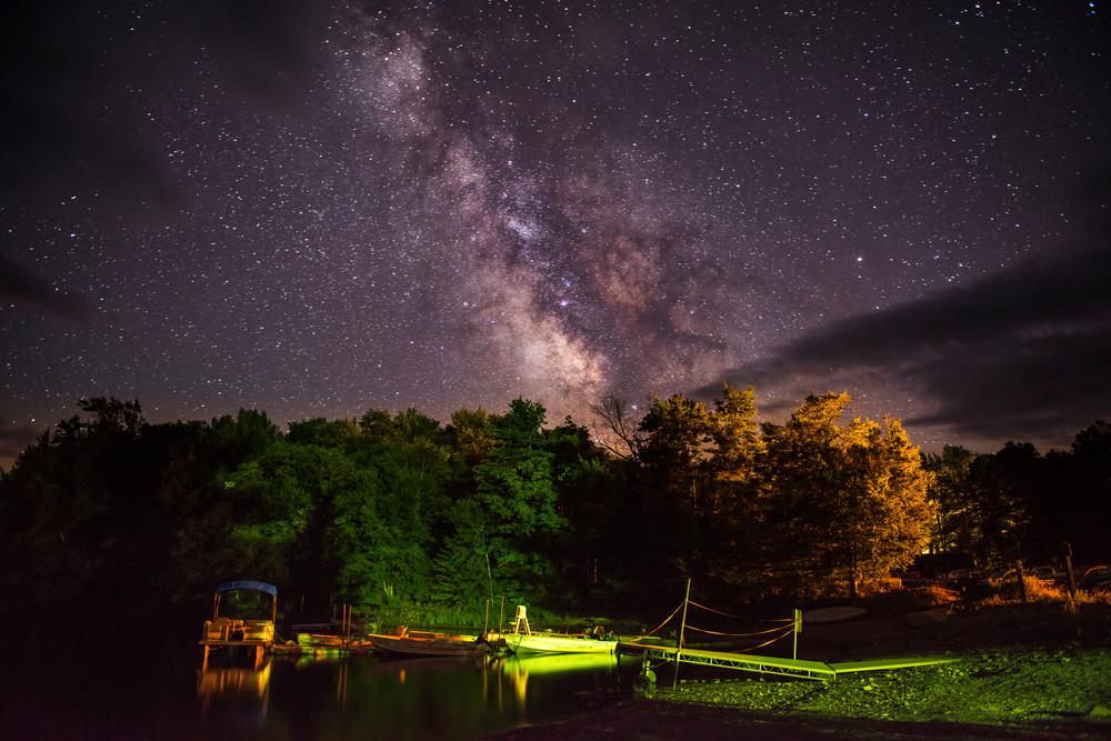 Milky Way Over Stillwater  Photography Art   Kurt Gardner Photogarphy