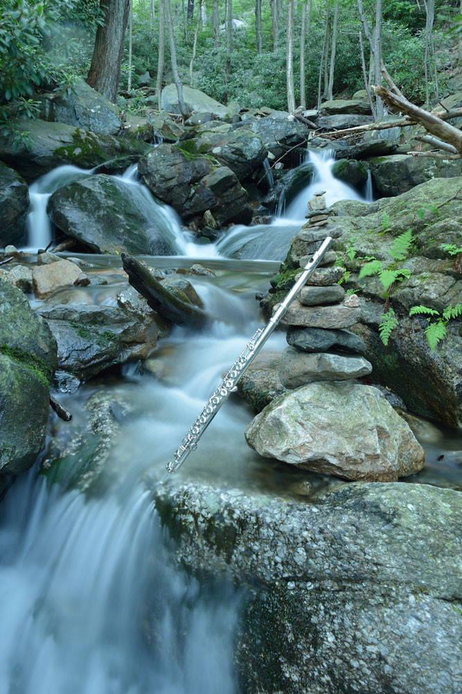 Flute And The Cairn Art | Instrumental Art