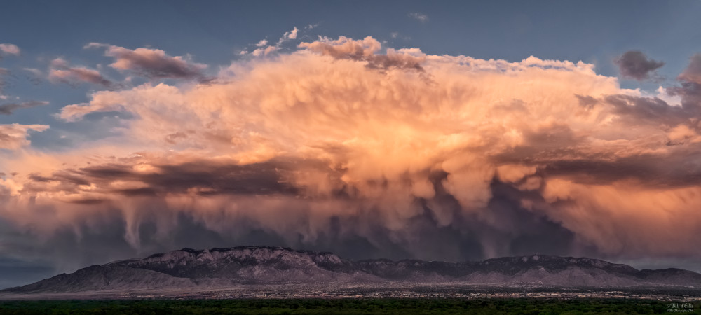 Photo of Sandia Skyscapes #10, d'Ellis Photographic Art Photographs, Bill & Elsa