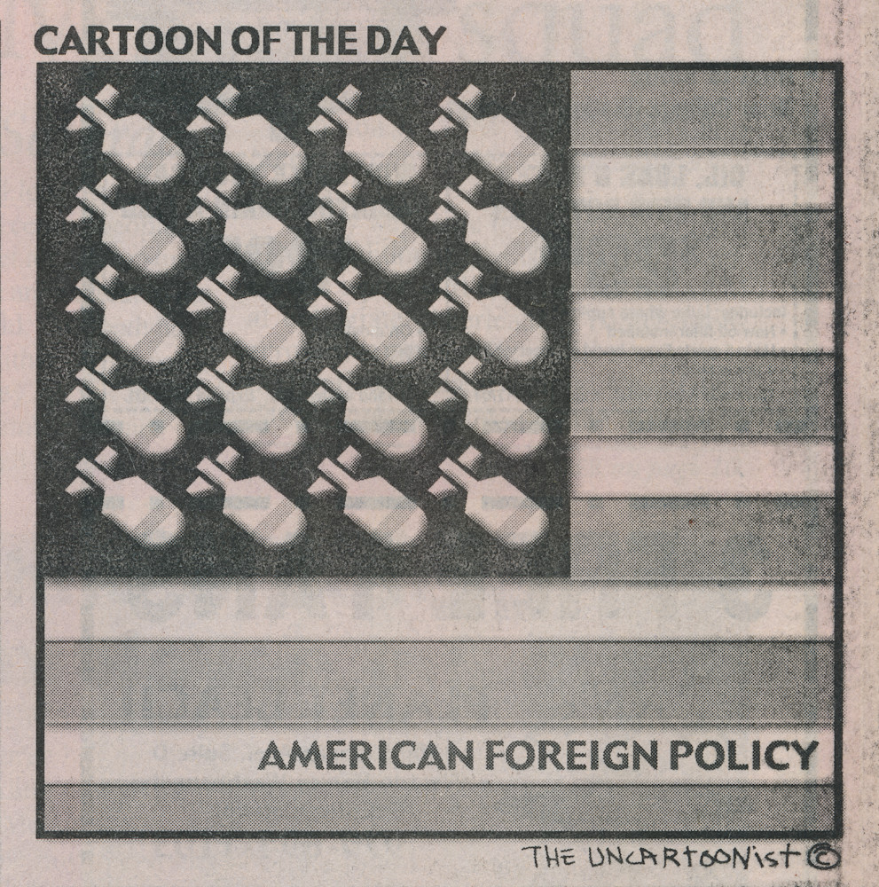 Foreign Policy Art | Uncartoonist, Ink
