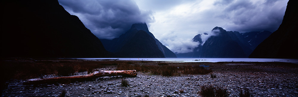 The Storm in Milford Sound