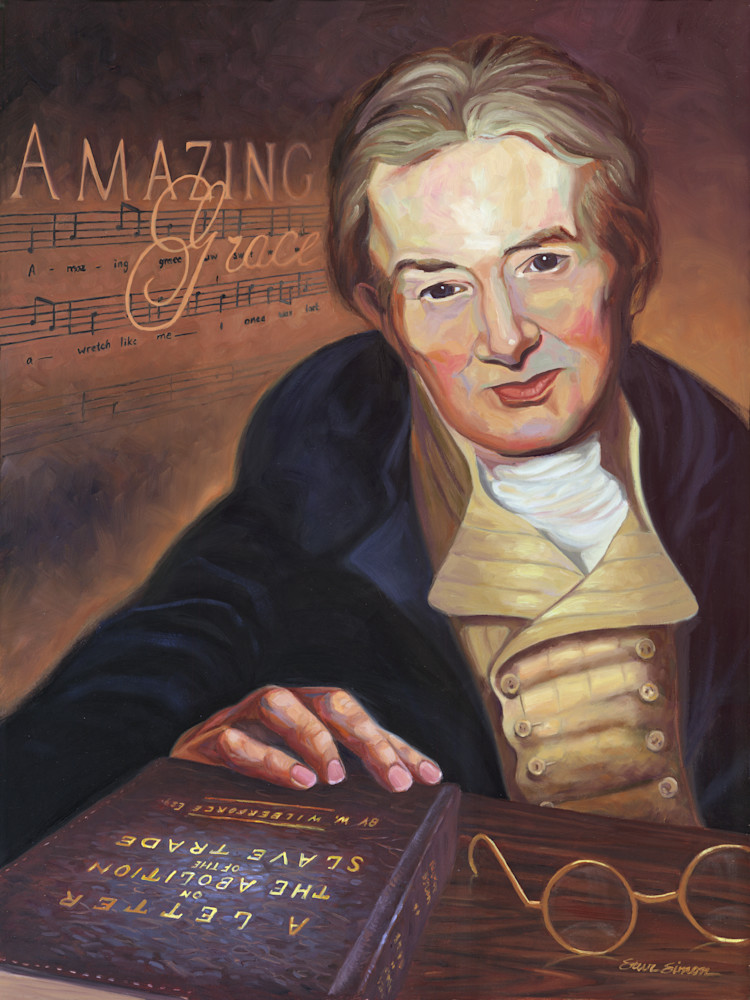 """William Wilberforce and his book entitled """"A Letter on the Abolition of the Slave Trade"""""""