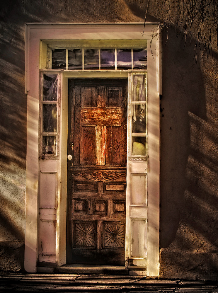 Mesilla Parish Door, d'Ellis Photographic Art photographs, Elsa
