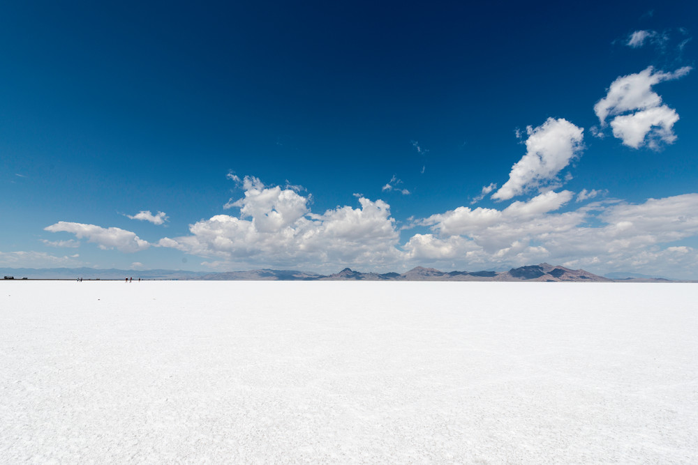Bonneville Salt Flats | Fine art photograph by Wayne Stadler
