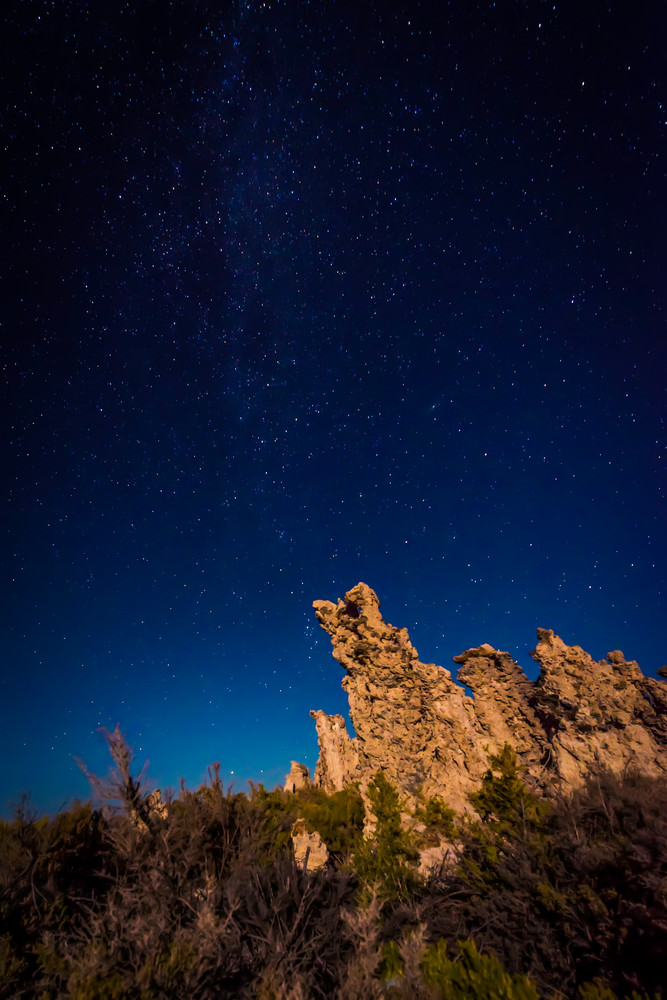 Night on Mono Lake | Fine art photograph by Wayne Stadler