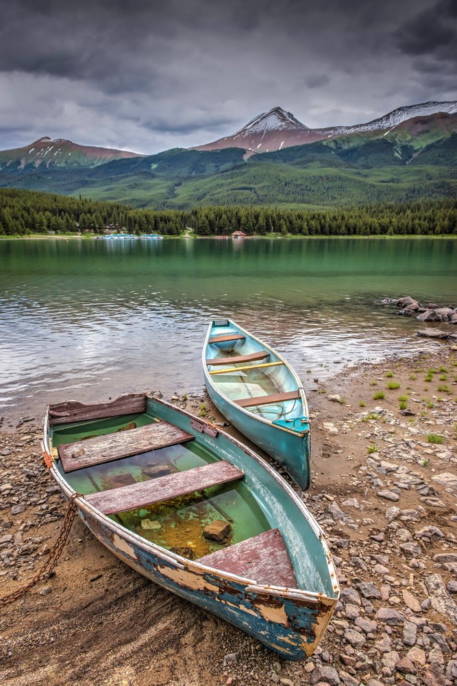 Ghosts Of Maligne | Fine art photograph by Wayne Stadler