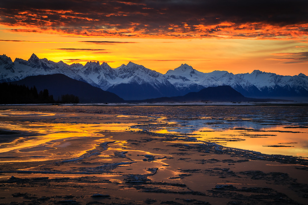 Chilkat River Sunrise