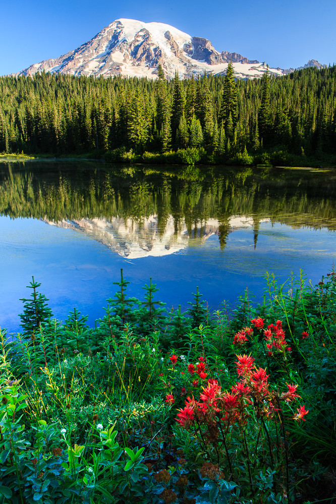 Reflection Lakes Photograph for Sale as Fine Art