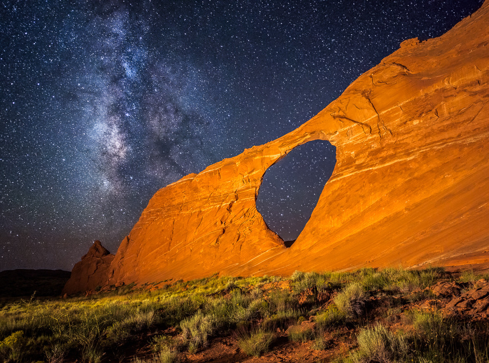 Night at Hope Arch Photograph for Sale as Fine Art