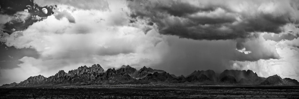 Photographs of Stormy Organ Mountains | d'Ellis Photographic Art by Bill