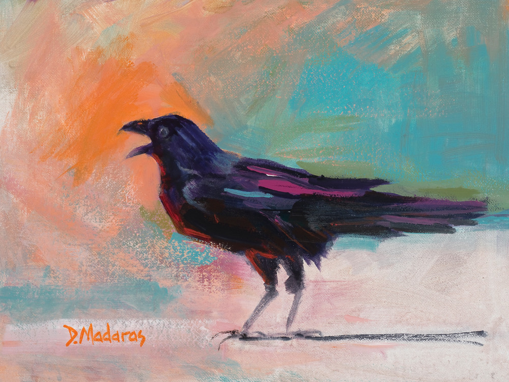 Black Raven | Southwest Art Gallery Tucson | Madaras